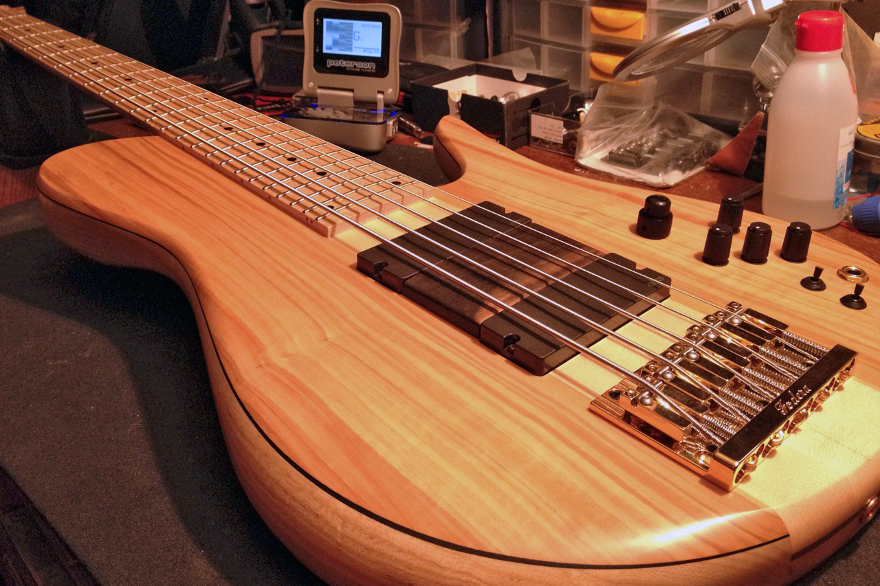 Set up and manteinance on all our basses